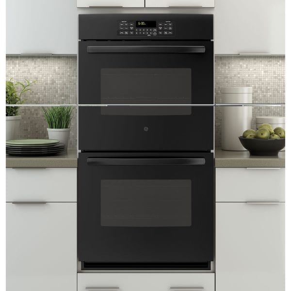 Nice Black Built In Oven Part - 11: GE Black 27-inch Built-in Double Wall Oven