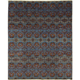 Oushak Farukh Blue Area Rug (8' x 10'3)