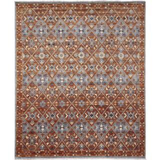 Oushak Shuhrat Rust Area Rug (8'2 x 9'7)