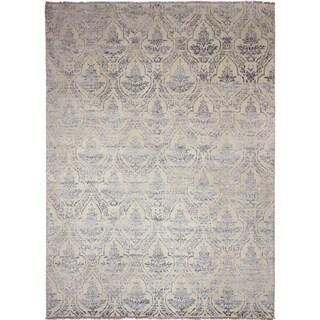 Oushak Ardashir Ivory Area Rug (8'10 x 11'10)