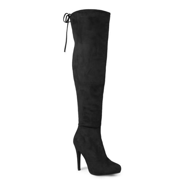 fbf63f28d1c Shop Journee Collection Women's 'Magic' Regluar and Wide-calf Over ...