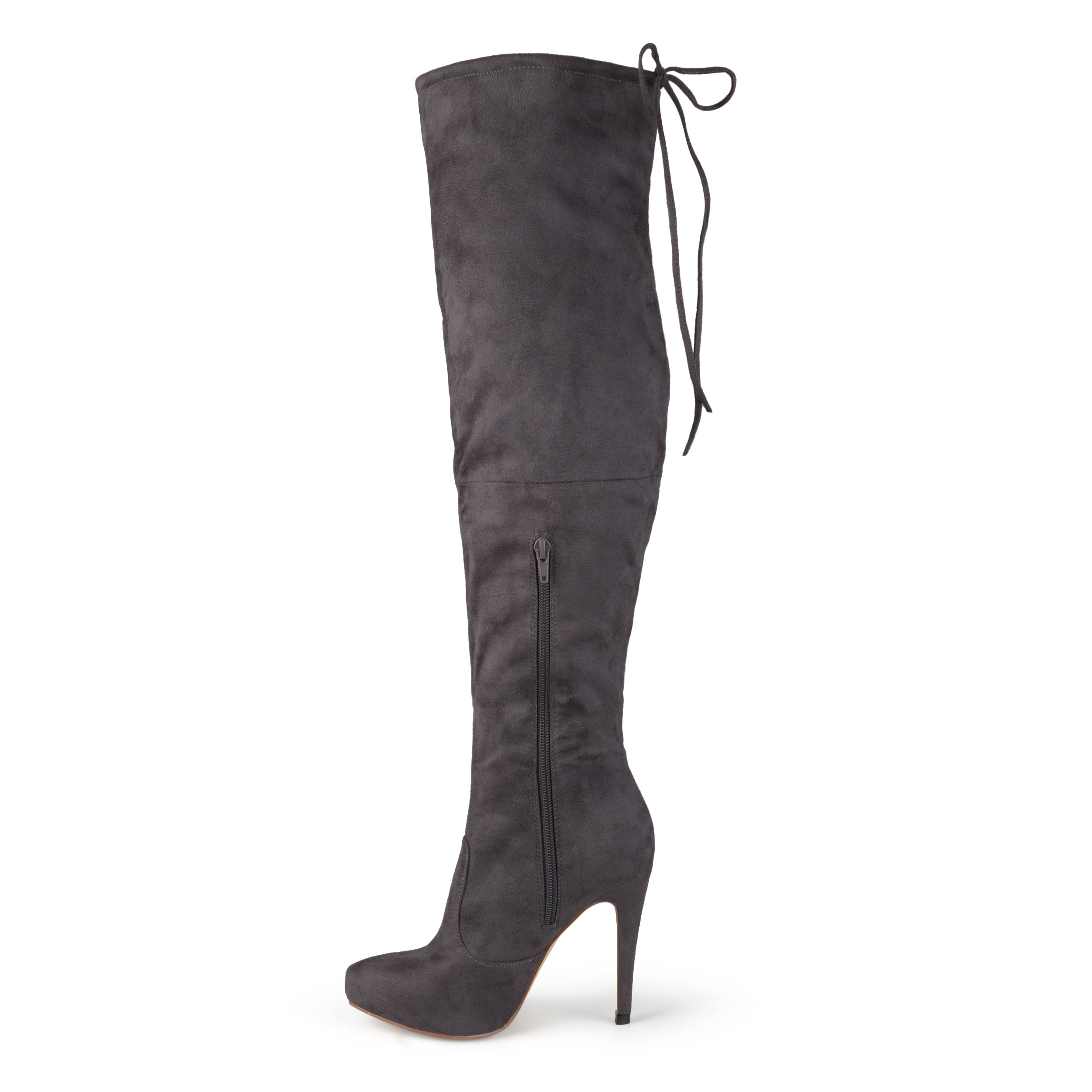 2fbff44de5db Shop Journee Collection Women s  Magic  Regluar and Wide-calf Over-the-knee  High Heel Boots - Free Shipping Today - Overstock - 10356100
