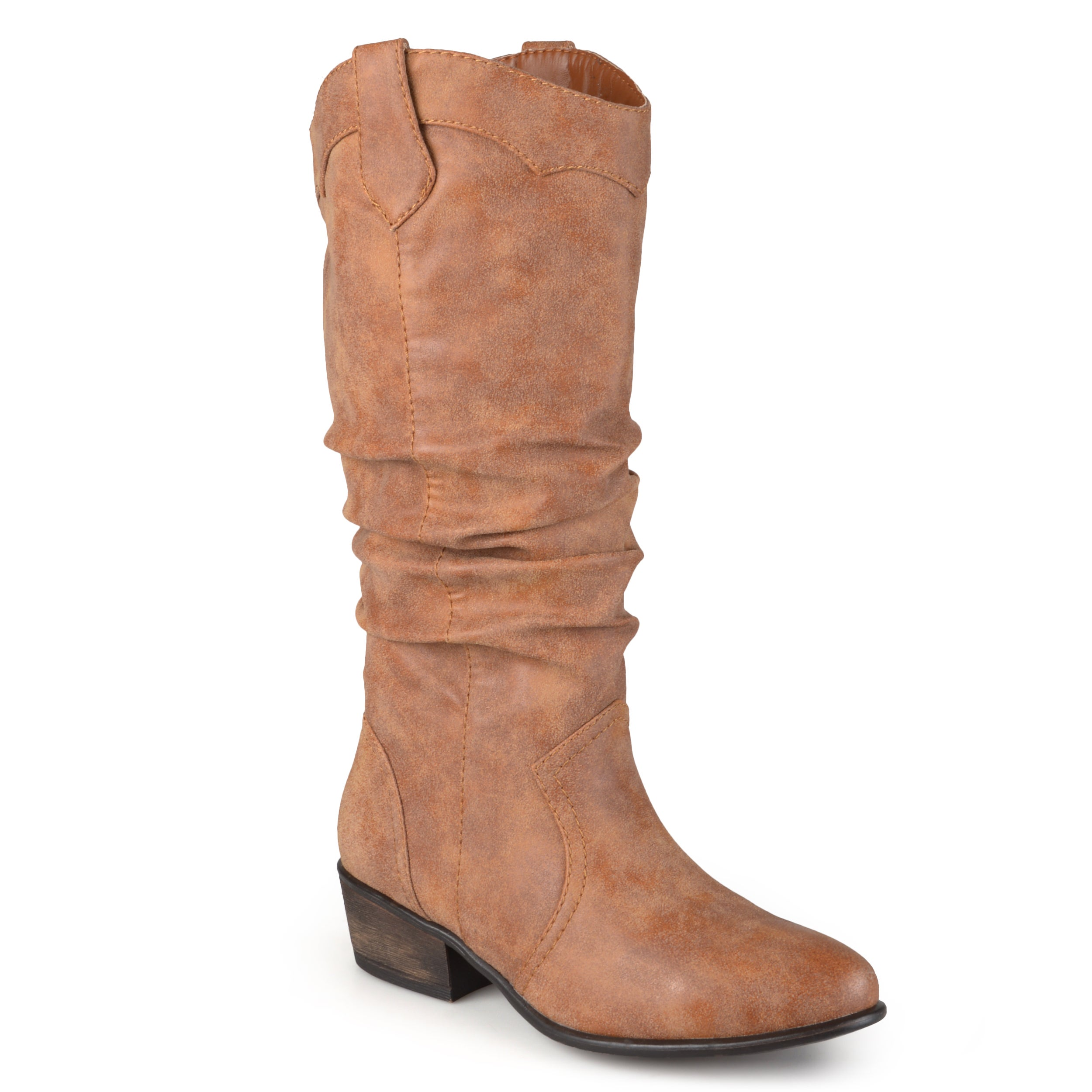 Journee collection Women's 'Drover' Regular and Wide-calf...