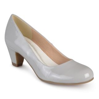 Journee Collection Women's 'Luu-P' Comfort Fit Patent Classic Pumps