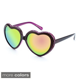 EPIC Eyewear 'Mimi' Heart-Shaped Fashion Sunglasses
