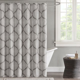 Madison Park Vella Shower Curtain - 2 Color Options