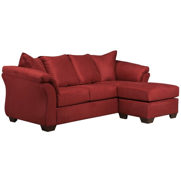 Signature Design by Ashley Darcy Microfiber Sofa Chaise ...