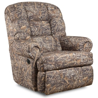 Big and Tall 350-pound Capacity Camouflaged Encore Conceal Brown Fabric Recliner  sc 1 st  Overstock.com & Flash Furniture Recliner Chairs u0026 Rocking Recliners - Shop The ... islam-shia.org