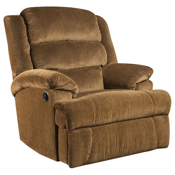Shop Big And Tall 350 Pound Capacity Aynsley Microfiber Recliner Free Shipping Today