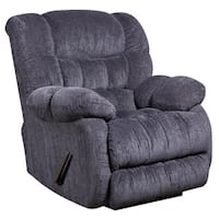 Contemporary Columbia Microfiber Rocker Recliner