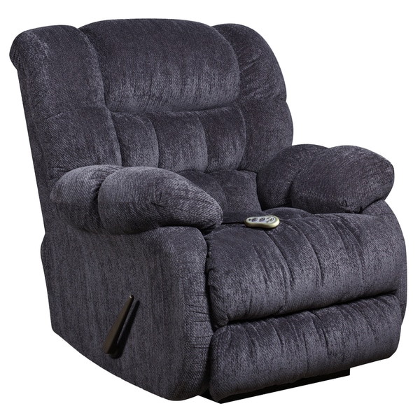 Massaging Microfiber Recliner with Heat Control  sc 1 st  Overstock.com & Massaging Microfiber Recliner with Heat Control - Free Shipping ... islam-shia.org