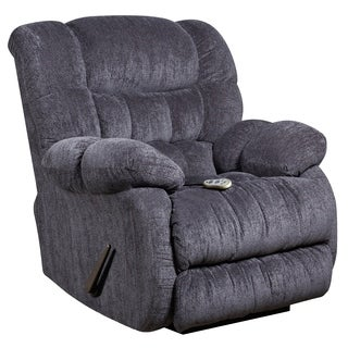 Massaging Microfiber Recliner with Heat Control