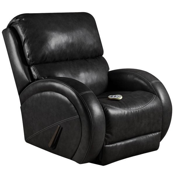 Massaging Como LeatherSoft Recliner with Heat Control