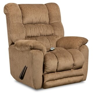 Massaging Temptation Microfiber Recliner with Heat Control