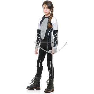 District 12 Costume Girls Jumpsuit