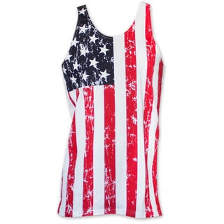 Men's American Flag Stars And Stripes Tank Top