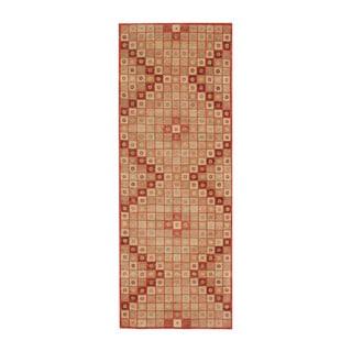 Herat Oriental Afghan Hand-knotted Tribal Vegetable Dye Gabbeh Wool Runner (3'9 x 10'2)