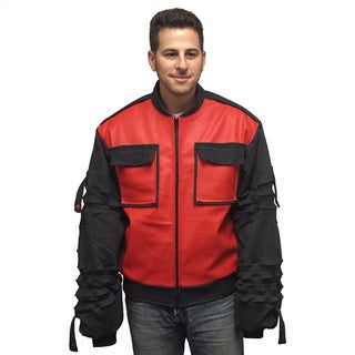 Marty McFly Jr. Jacket Back To The Future 2 II Movie Coat 2015 Sleeves Adjust