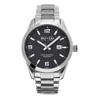 SO&CO New York Men's Madison Quartz Grey Dial Stainless Steel Watch|https://ak1.ostkcdn.com/images/products/10356364/P17464690.jpg?impolicy=medium