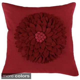Rizzy Home 18-inch Floral Throw Pillow|https://ak1.ostkcdn.com/images/products/10356554/P17464853.jpg?impolicy=medium