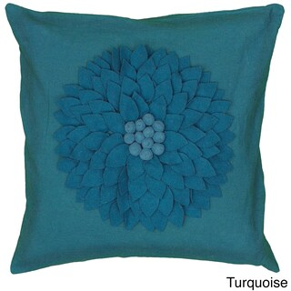 Rizzy Home 18-inch Floral Throw Pillow (4 options available)