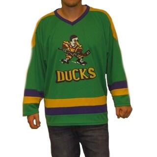 Ken Wu #16 Mighty Ducks Movie Hockey Jersey Kenny Costume D2 Ice Skater 90's