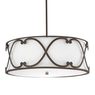 Capital Lighting Donny Osmond Alexander Collection 4-light Burnished Bronze Pendant