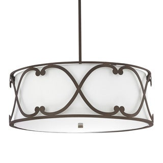 Capital Lighting Donny Osmond Alexander Collection 4-light Burnished Bronze Pendant