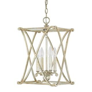 Capital Lighting Donny Osmond Alexander Collection 4-light Winter Gold Foyer Fixture/ Chandelier