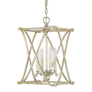 Capital Lighting Donny Osmond Alexander Collection 4-light Winter Gold Foyer Fixture/ Chandelier