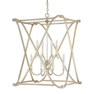 Capital Lighting Donny Osmond Alexander Collection 8-light Winter Gold Foyer Fixture/ Chandelier