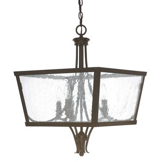 Capital Lighting Abbey Collection 4-light Russet Foyer Fixture/Chandelier