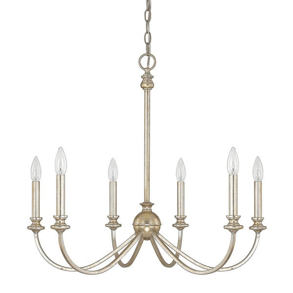 Capital Lighting Donny Osmond Alexander Collection 6-light Winter Gold Chandelier  sc 1 st  Overstock.com & Shop Capital Lighting Donny Osmond Alexander Collection 6-light ...