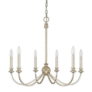 Capital Lighting Donny Osmond Alexander Collection 6-light Winter Gold Chandelier
