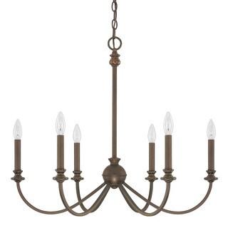 Capital Lighting Donny Osmond Alexander Collection 6-light Burnished Bronze Chandelier