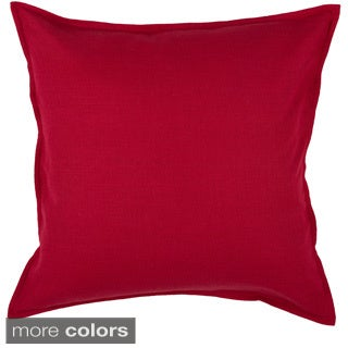 "Rizzy Home 20""x20"" Cotton Solid Throw Pillow (More options available)"