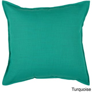 Link to Rizzy Home Cotton Solid 20-inch Throw Pillow Similar Items in Decorative Accessories