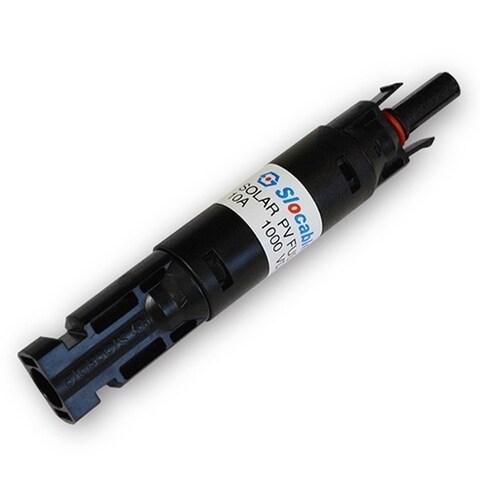 Renogy MC4 Waterproof In-Line Fuse Holder with Fuse - Black