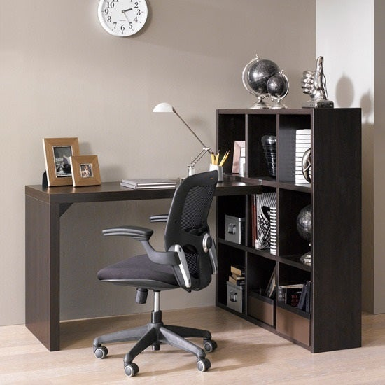 Techny Collection Claude L-Desk, Espresso