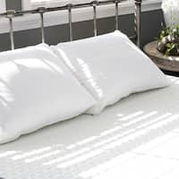 Extra Soft Cotton, Down, and Feather Pillow - White