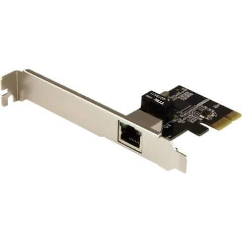StarTech.com 1-Port Gigabit Ethernet Network Card - PCI Express, Intel I210 NIC - Single Port PCIe Network Adapter Card w/ Inte