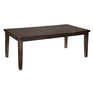 Signature Design By Ashley Haddigan Dark Brown Dining Table