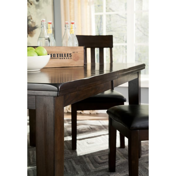Shop Signature Design By Ashley Haddigan Dark Brown Dining Table