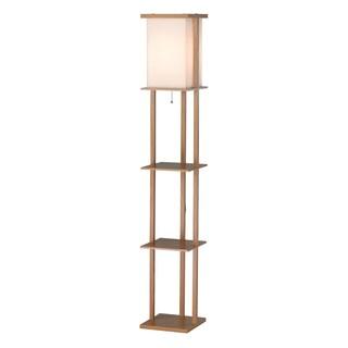Barbery Shelf Floor Lamp