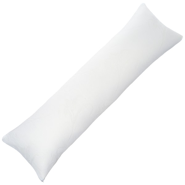 Windsor Home Complete Comfort Shredded Memory Foam Body Pillow