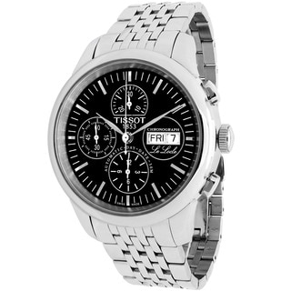 Tissot Men's T41.1.387.51 Le Locle Automatic Round Silvertone Stainless Steel Bracelet Watch