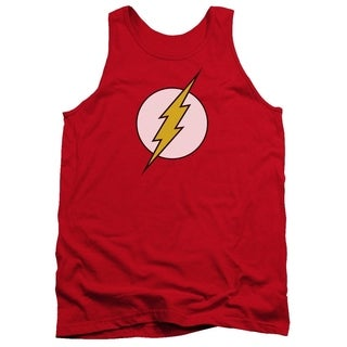 Men's Cotton Red Flash Logo Tank Top