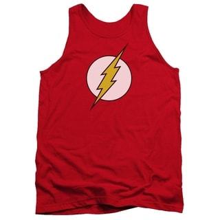 Men's Cotton Red Flash Logo Tank Top