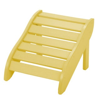 Yellow Wooden Foot Rest