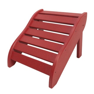 Red Wooden Foot Rest